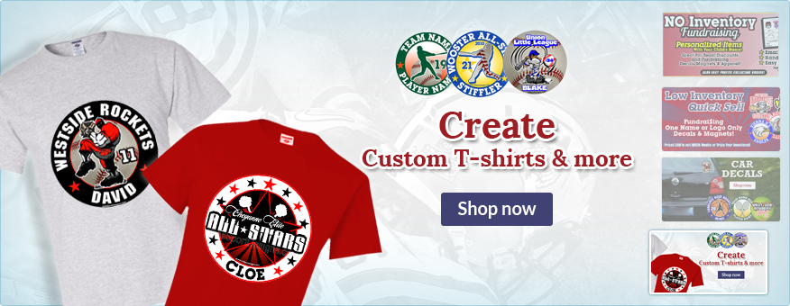 Create Custom T-Shirt & more