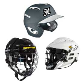 """Hockey Football Softball  Lacrosse Baseball Helmet Thick Numbers Stickers 1.25 /"""""""